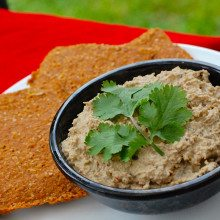 Picture of Baba Ghanoush for popup at Novi Cambridge