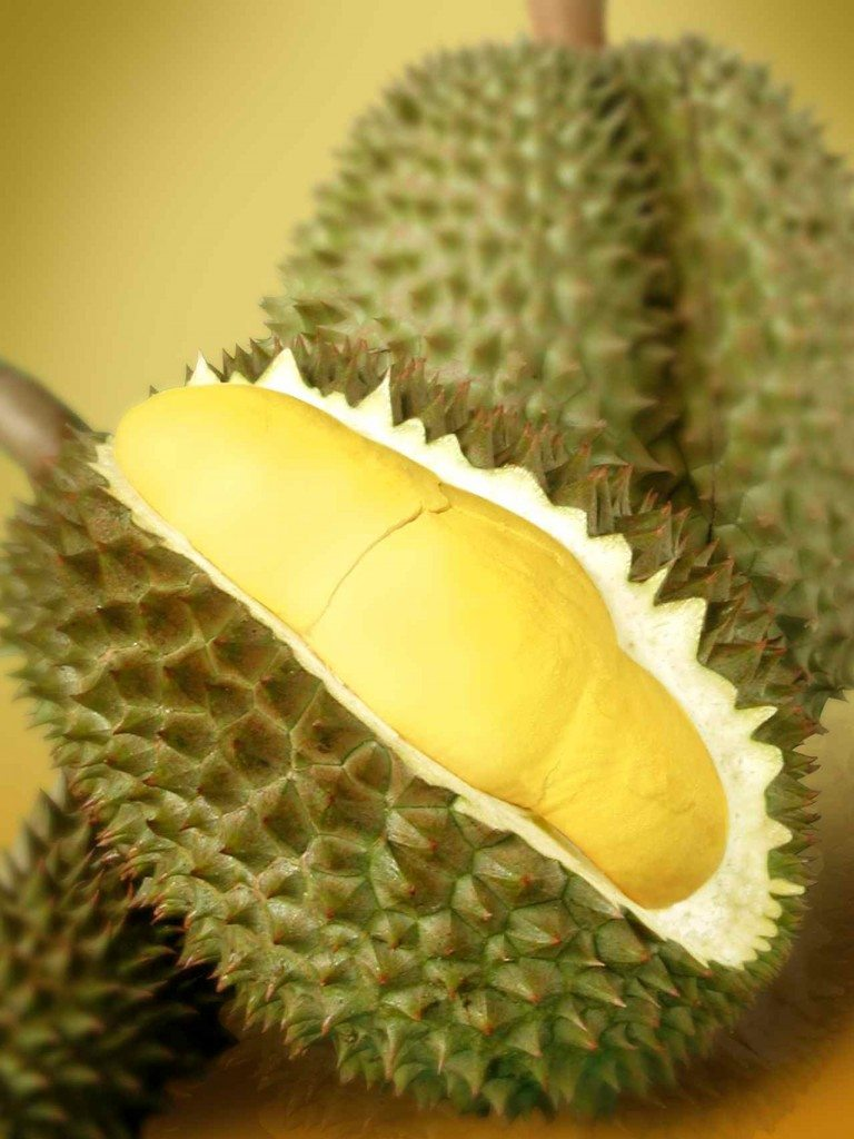 attack of the giant durian or should i say rocking raw chef. Black Bedroom Furniture Sets. Home Design Ideas