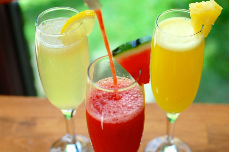 Fruit coolers for detox without juicing