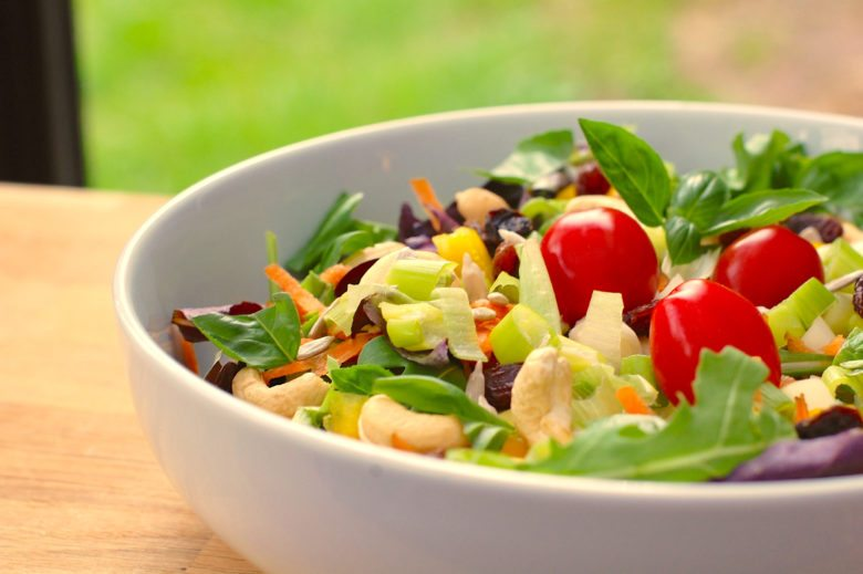 Garden salad in foods can help your brain