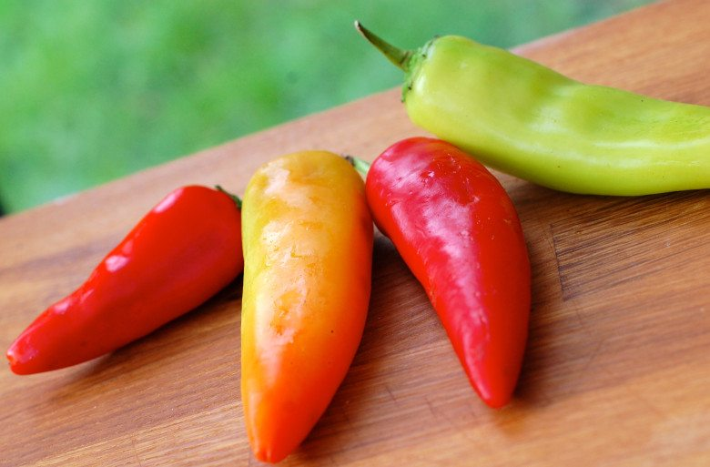 Hot peppers in fruit and veg to buy organic