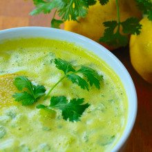 Picture of Lemon Rasam Soup for Eat Cambridge