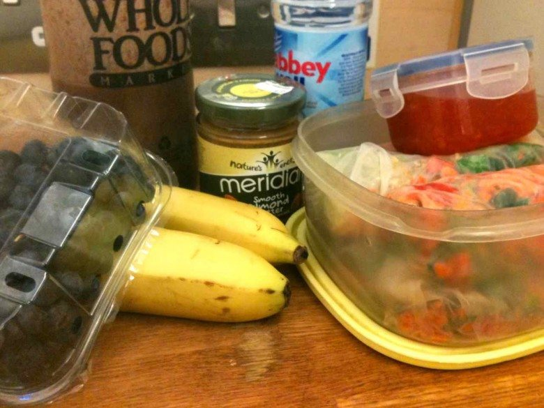 Picture of meal for raw on the go