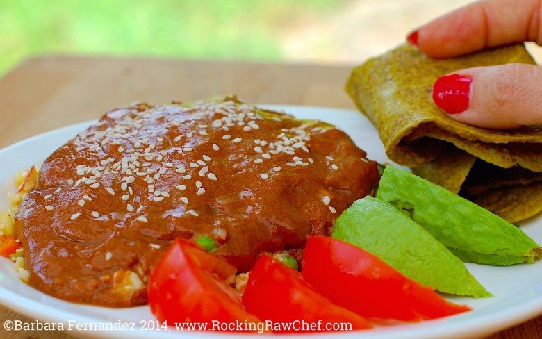 Photo of mole for mexican food fiesta