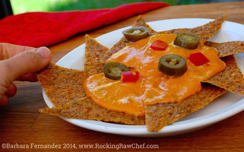 Picture of cheezy nachos  for Mexican food fiesta