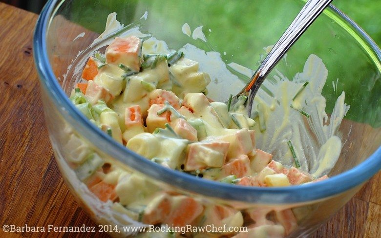 Picture of dairy free potato salad