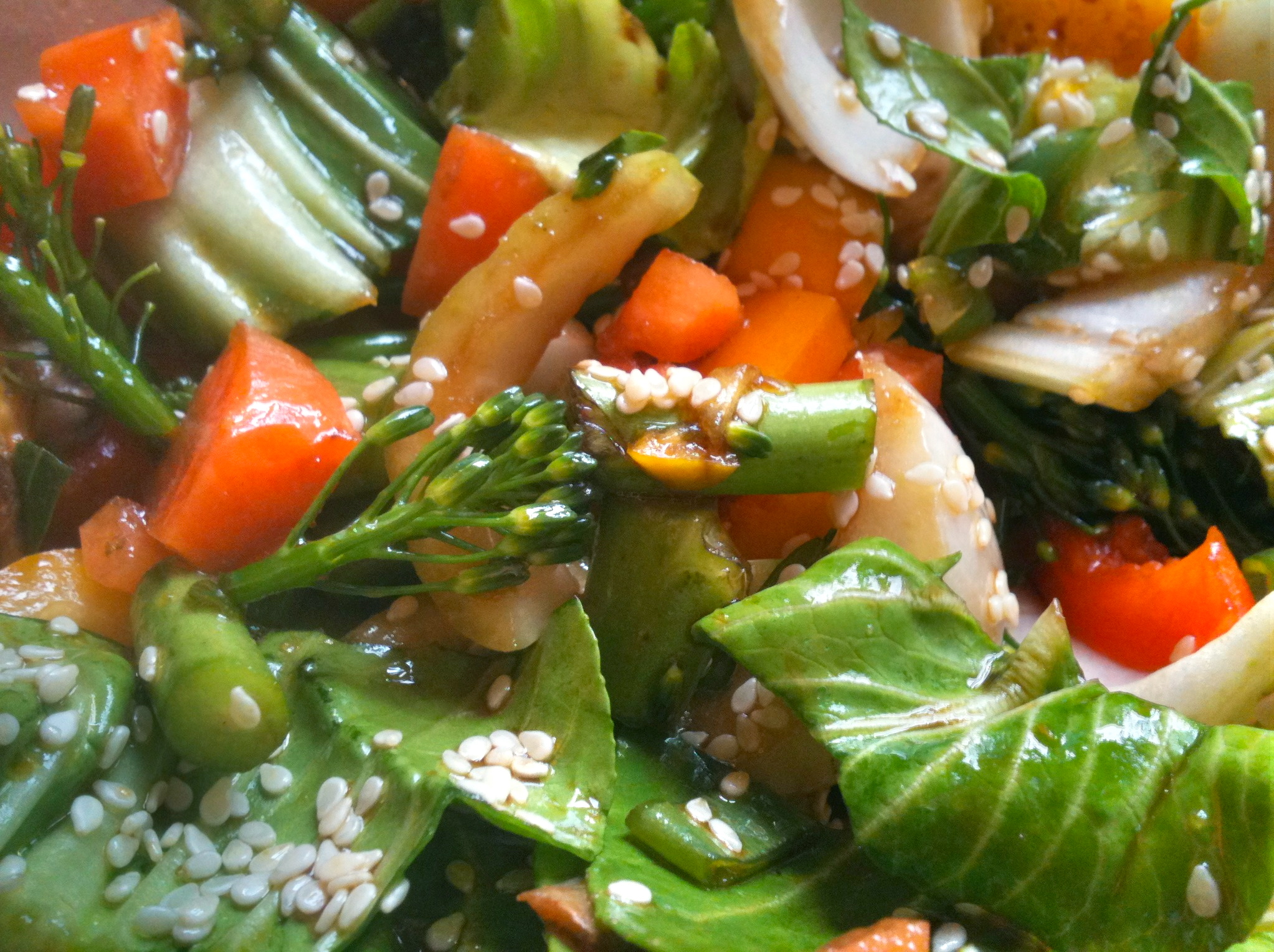 Fast raw food recipes rocking raw chef quick oriental veggies fast raw food recipes forumfinder Image collections