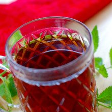superherb mint tea for those who hate herbal tea