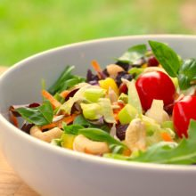 Garden salad in foods good for your brain